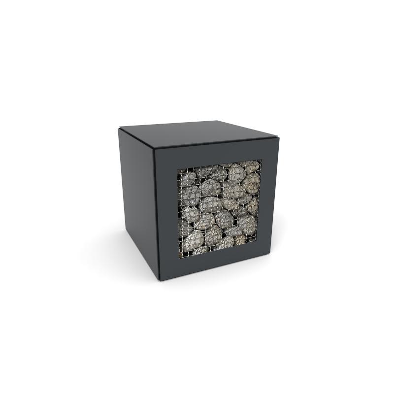 rangement bois de chauffage accumulateur d 39 angle 1 face speeta. Black Bedroom Furniture Sets. Home Design Ideas