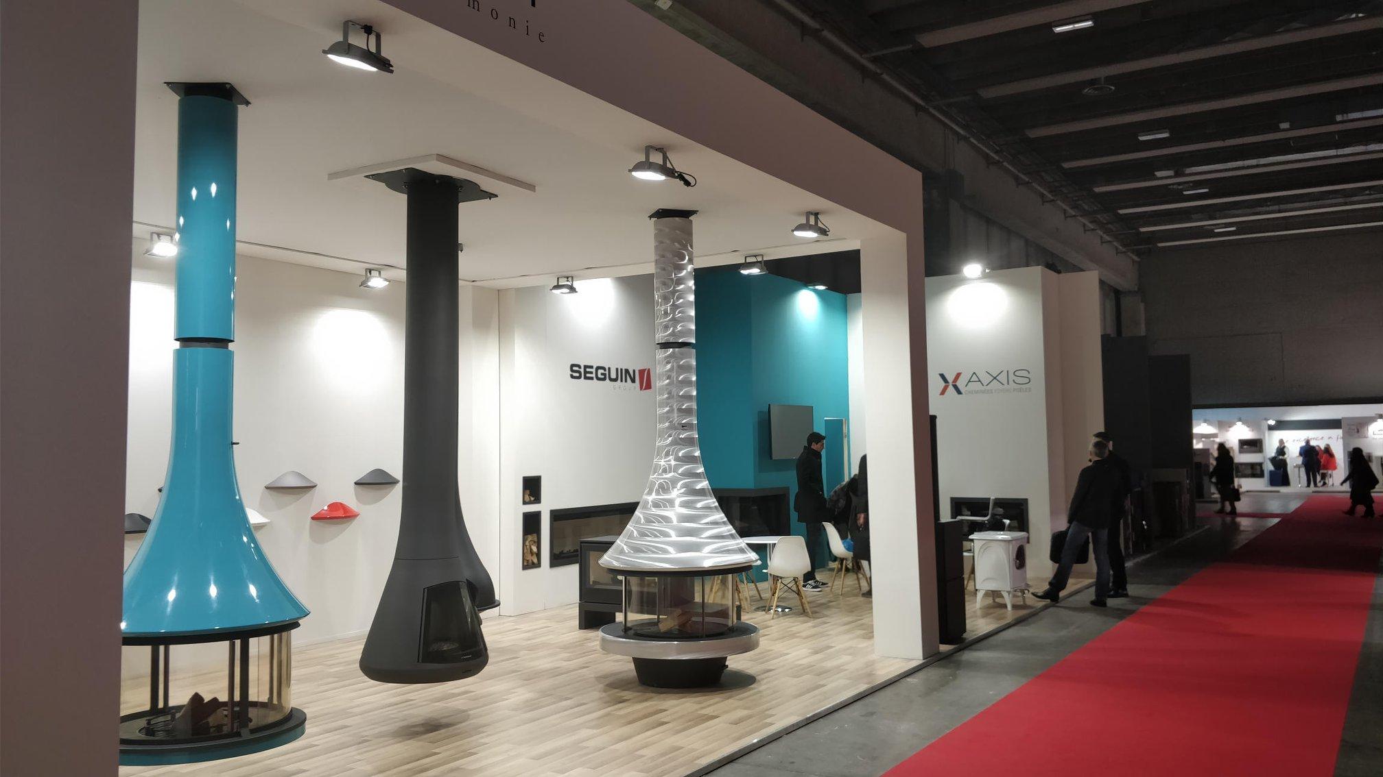 Stand Speetbox et groupe Seguin à Vérone