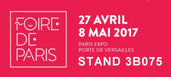 PARIS TRADE SHOW from APRIL 27th to MAY 8th, 2017
